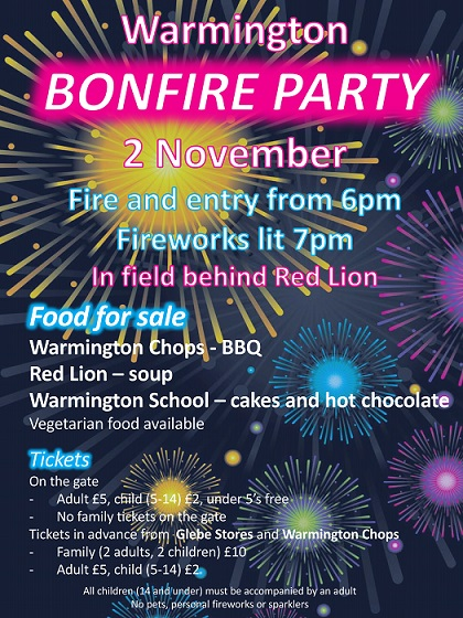 Fireworks Party Poster